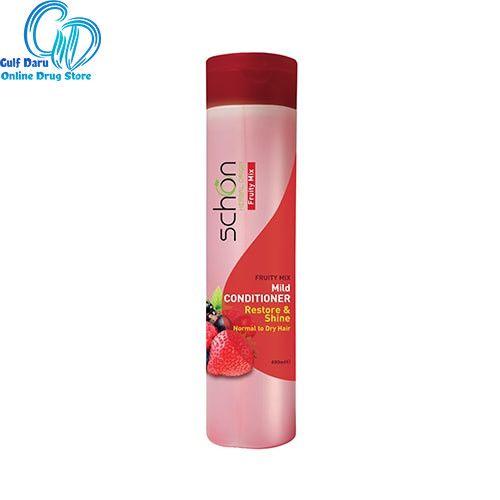 نرم کننده مو شون فروتی میکس مناسب رنگ شده 400 میلی لیتر