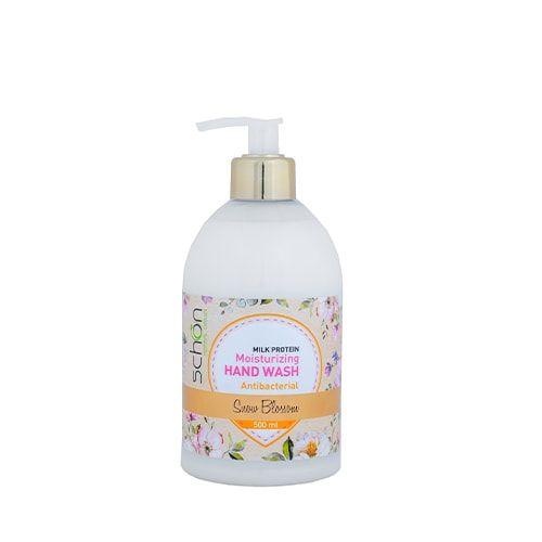 مایع دستشویی کرمی اسنو بلاسم شون مناسب انواع پوست 500 میلی لیتر