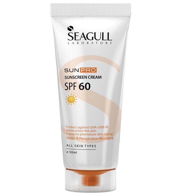 کرم ضد آفتاب سی گل با SPF 60 حجم 50 میلی لیتر