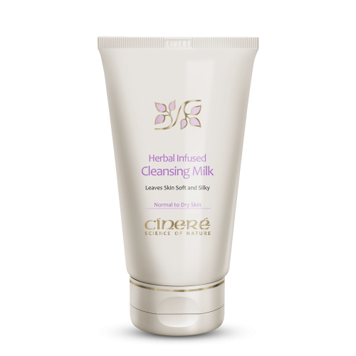 پاک کننده صورت سینره شیر پاک کن مخصوص پوست معمولی و خشک حجم 150 میلی لیتر
