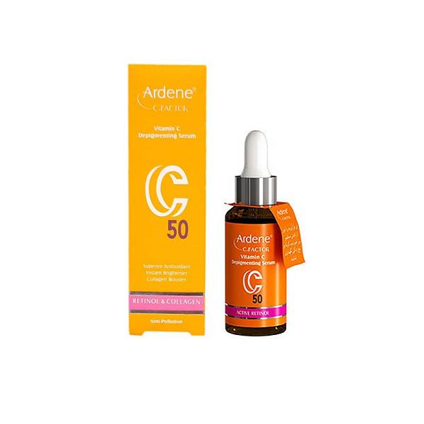 سرم روشن کننده و ضد لک حاوی ویتامین ث آردن 30 گرم