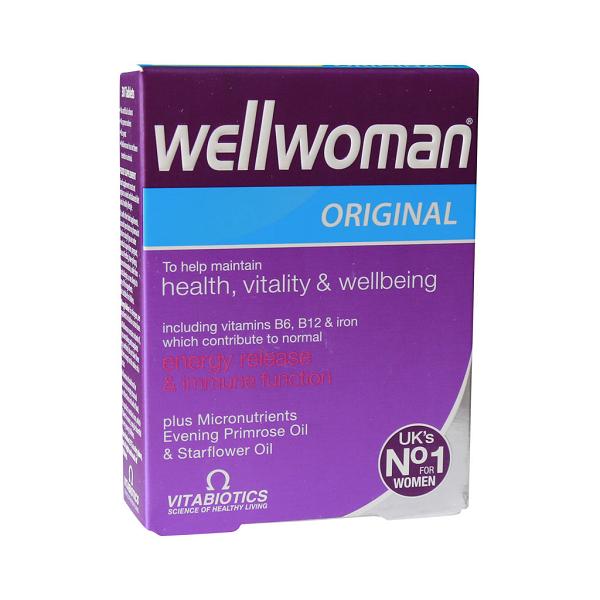 کپسول ول وومن اورجینال ویتابیوتیکس مخصوص خانم ها 30 عددی