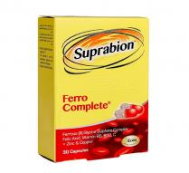 کپسول فرو کامپلیت سوپرابیون پیشگیری از کم خونی 30 عدد