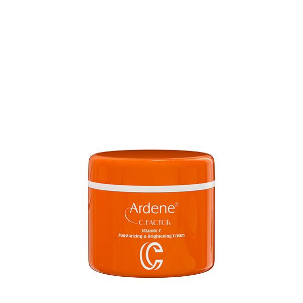 کرم روز مرطوب کننده و روشن کننده آردن حاوی ویتامین سی 150میلی لیتر