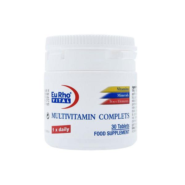 قرص مولتی ویتامین کامپلیت یوروویتال 30 عددی