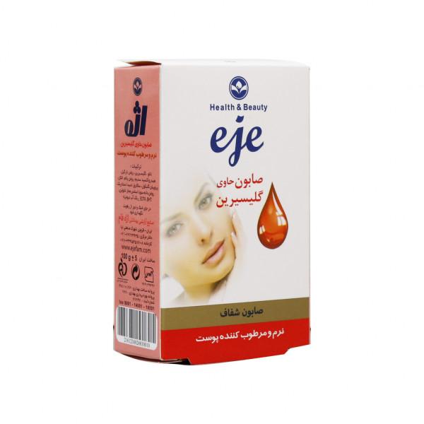 صابون حاوی گلیسیرین اژه مخصوص پوست های خشک و حساس 100 گرم