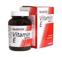 کپسول ژلاتینی ویتامین ای 400 هلث اید