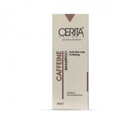 شامپو تقویت کننده و ضد ریزش کافئین سریتا مناسب موهای چرب و معمولی 200 میلی لیتر