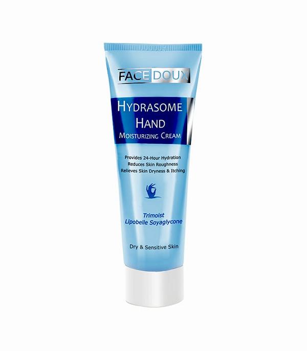 کرم مرطوب کننده دست فیس دوکس مناسب پوست خشک و حساس 75 میلی لیتر