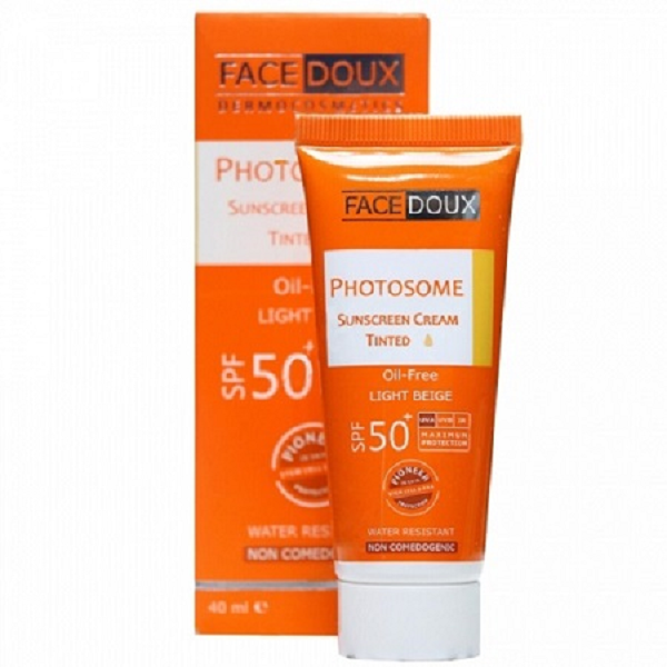 کرم ضد آفتاب فوتوزوم فیس دوکس ⁺SPF50 حجم ۴۰ میلی لیتر