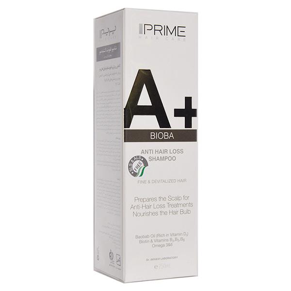 شامپو تقویت کننده مو پریم مناسب موهای دارای ریزش 250 میلی لیتر