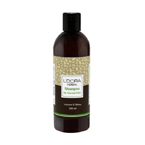 شامپو گیاهی مناسب موهای معمولی لدورا هربال 300 میلیلیتر