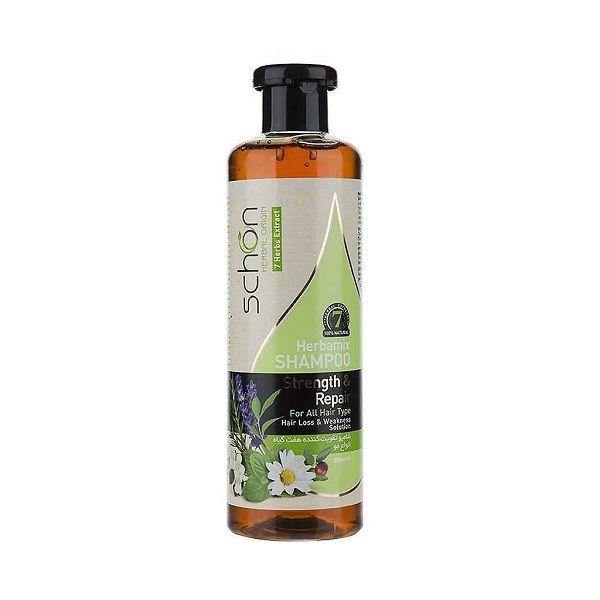 شامپو هفت گیاه (هربامیکس) شون مناسب انواع مو 300 میلی لیتر